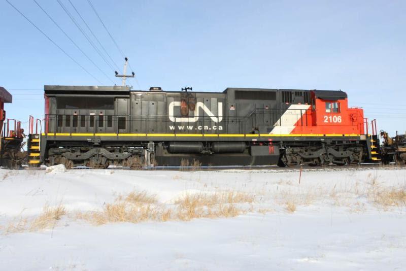 CN 2106 in Winnipeg