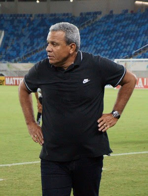Hélio dos Anjos - técnico do ABC (Foto: Augusto Gomes/GloboEsporte.com)