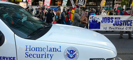 The FBI and other federal agencies monitored Occupy from the beginning. (photo: Occupy Portland)