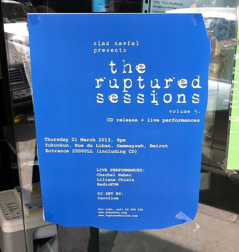 the ruptured sessions vol. 5 CD release party by tsweden