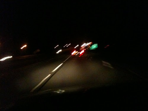 Driving through Pennsylvania (a long and exhausting blur)