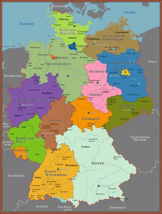 Deutschland Karte Zum Drucken   My blog