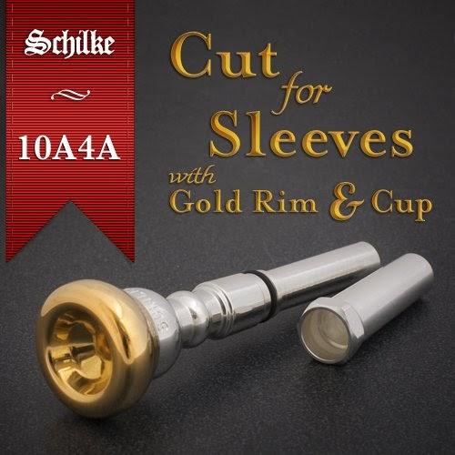 Schilke 24K Gold Cornet Mouthpiece 18