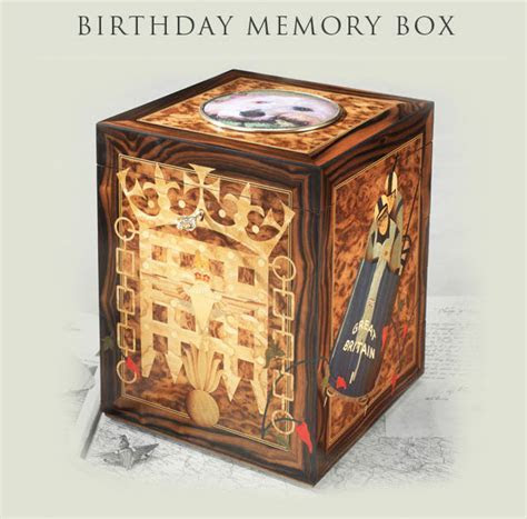 Exquisite Memory Boxes   Birthday Memory Boxes