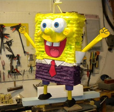 Spongebob DIY Pinata   AllFreePaperCrafts.com