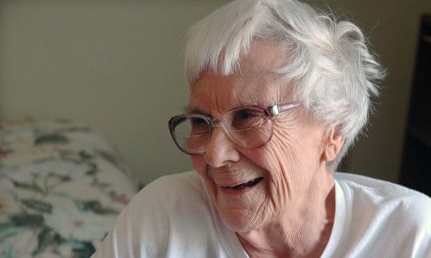 Harper Lee at home in Monroeville, Alabama.