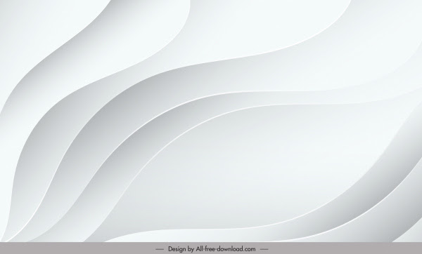 Template Latar Belakang Abstrak Dekorasi Berputar-putar Putih Cerah  Modern-vektor Misc-vektor Gratis Download Gratis
