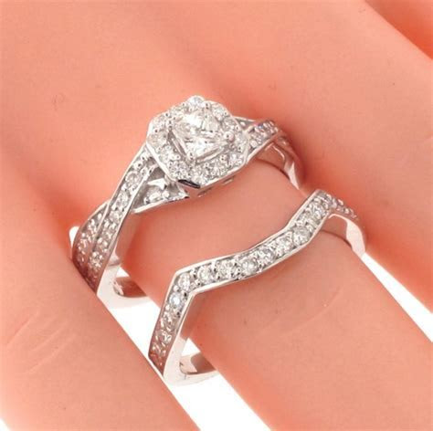 VIP Jewelry Art   1.30 CT Braided Princess Cut Diamond