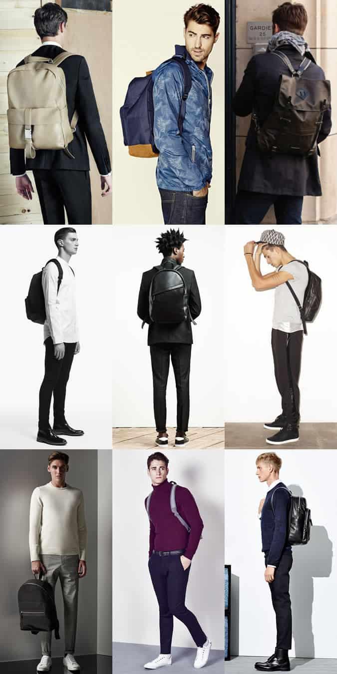 Men's Backpack Outfit Inspiration Lookbook