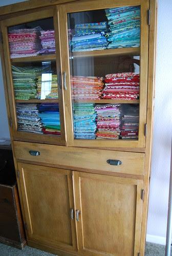 my new fabric storage system