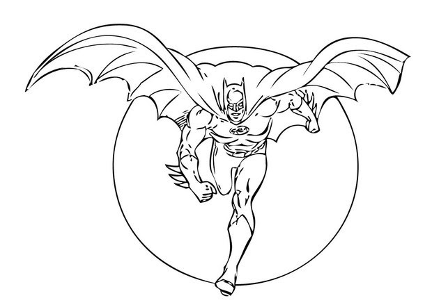 Coloriages Spiderman Superman Et Batman Frhellokidscom