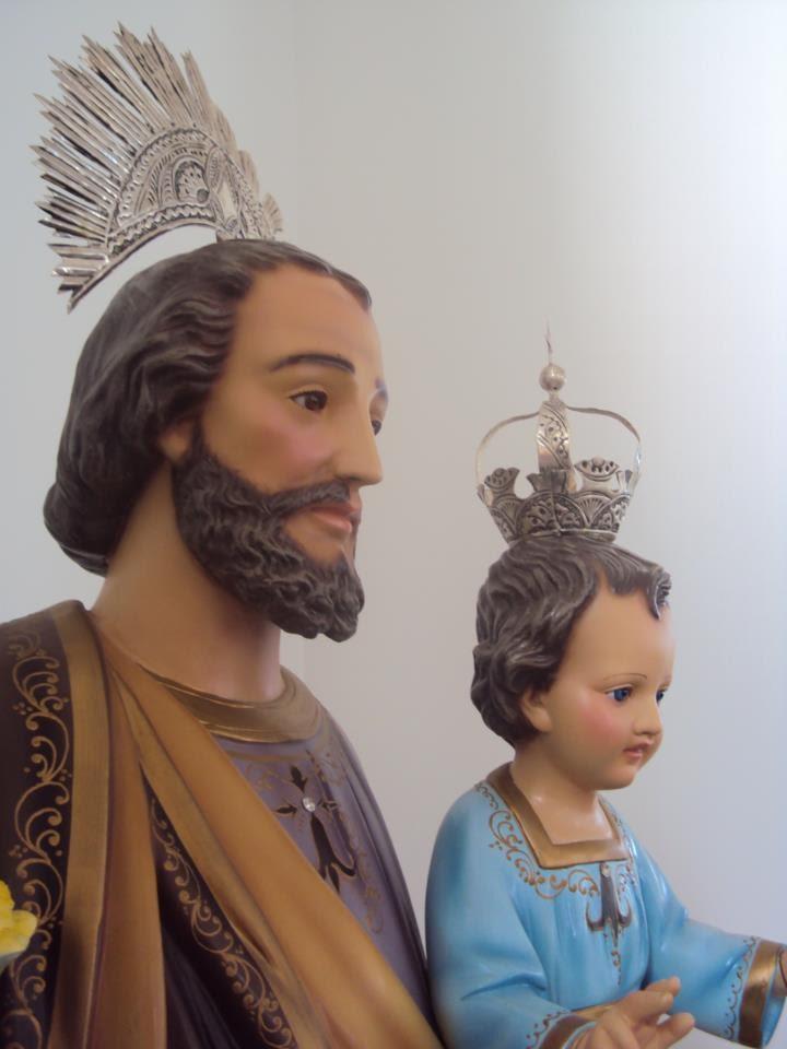 Estátua do padroeiro de Pão de Açúcar. (Foto: Divulgação/ Paroquia de São José)