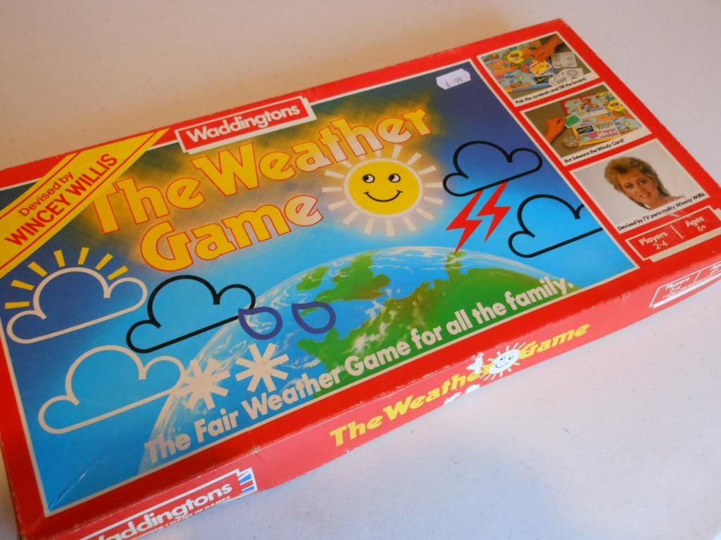 The Weather Game box