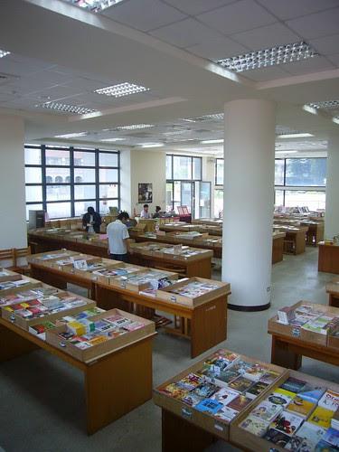 閱覽室辦書展