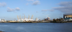 The Millennium Dome (The O2), Greenwich, London.
