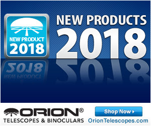 Orion's New Products of 2018
