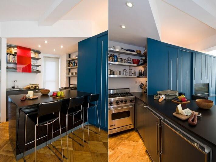 Small Apartment Design Exhibiting Creative Space-Efficient Ideas ...