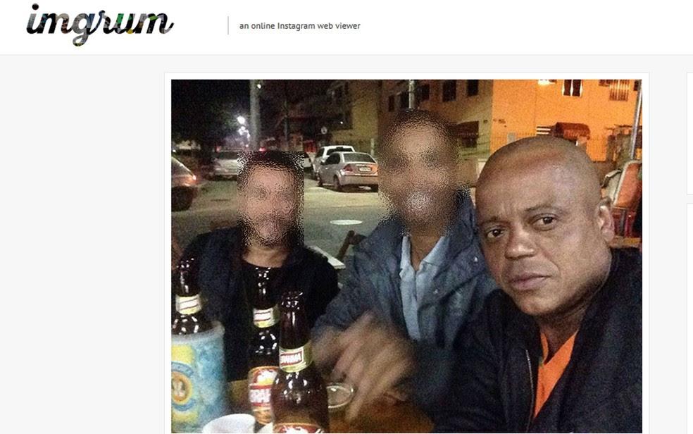 Gu Nicolau foi morto a tiros na porta do seu bar em Mesquita (Foto: Reprodução / Instagram)