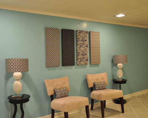 Fabric Wall Art Home Design Ideas, Pictures, Remodel and Decor
