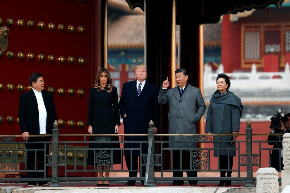 In Beijing, Trump lavishes praise on Chinese leader, touts 'great chemistry' between them