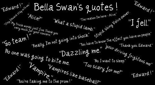 Sorea Rea Blog Bella Twilight Quotes