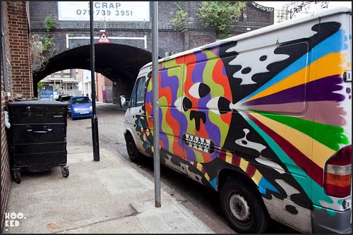 London street artist Malarky