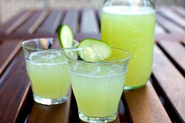 Fresh Cucumber Extract Beverage
