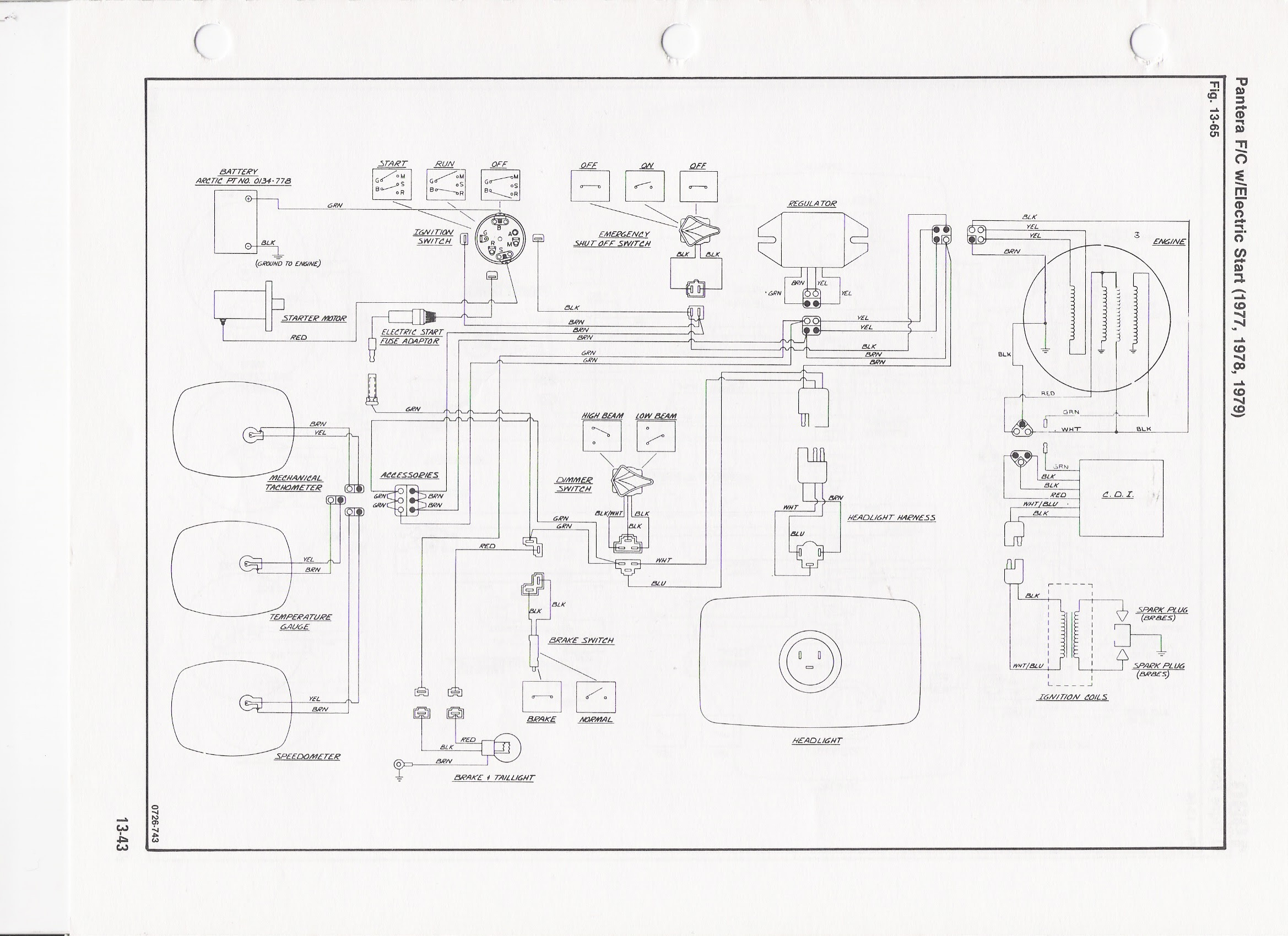 Diagram Arctic Cat 1971 Panther Wiring Diagram Full Version Hd Quality Wiring Diagram Spaschematics Corrierte It
