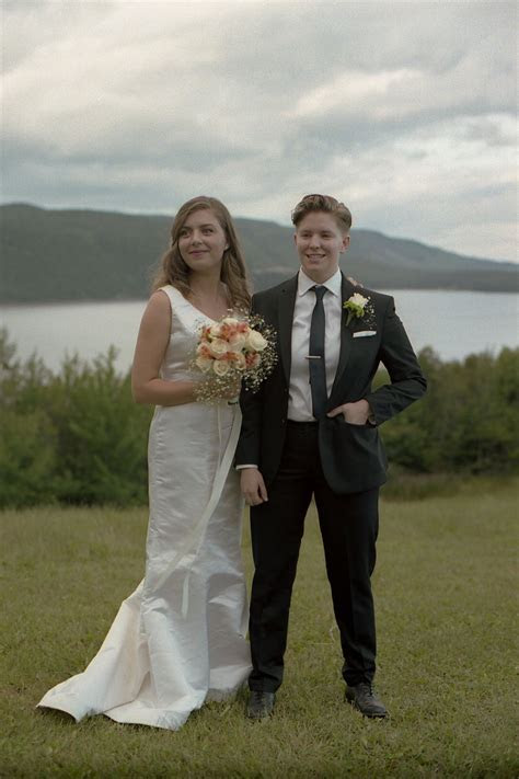 Laid back DIY country wedding in Cape Breton, Nova Scotia
