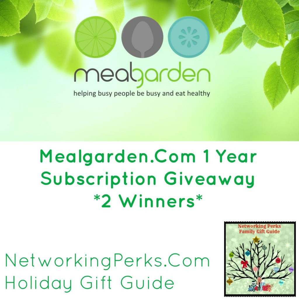 Enter the Mealgarden Subscription Giveaway. Ends 12/20 US/CA