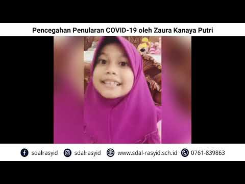 Pencegahan Penularan COVID 19 oleh Zaura Kanaya Putri