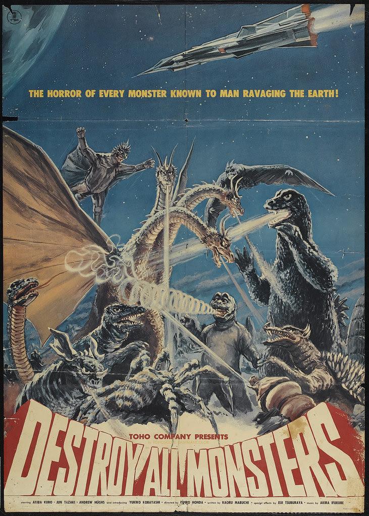 Destroy All Monsters (American International, 1969)