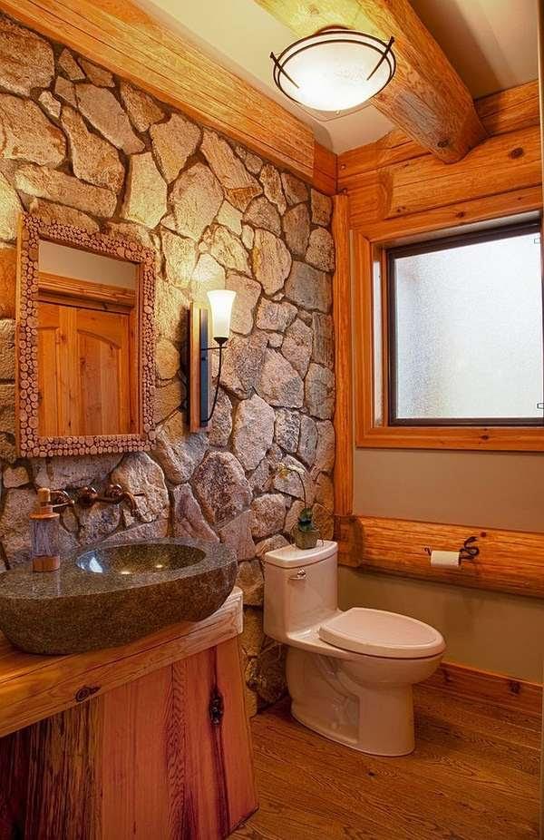 Rustic bathroom ideas - inspiring bathroom design and ...