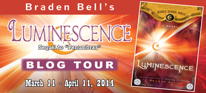 Luminescence blog tour