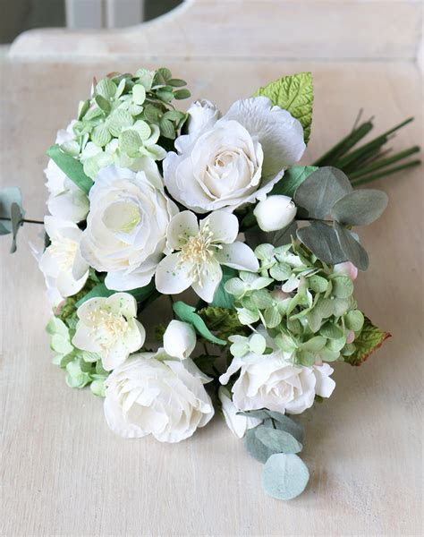 Paper Wedding Bouquet   Paper Flower Bridal Bouquet in