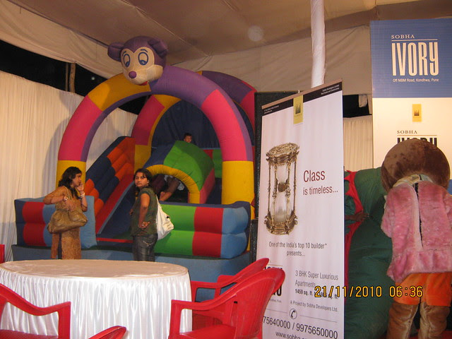 Sobha Ivory, 3 BHK Flats at NIBM-Kondhwa, Pune - here children had a great time