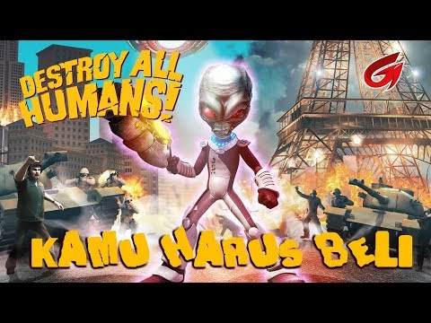 Review Game Destroy All Humans Remake (PC, XBO, PS4, Stadia) Release Date 28 July 2020