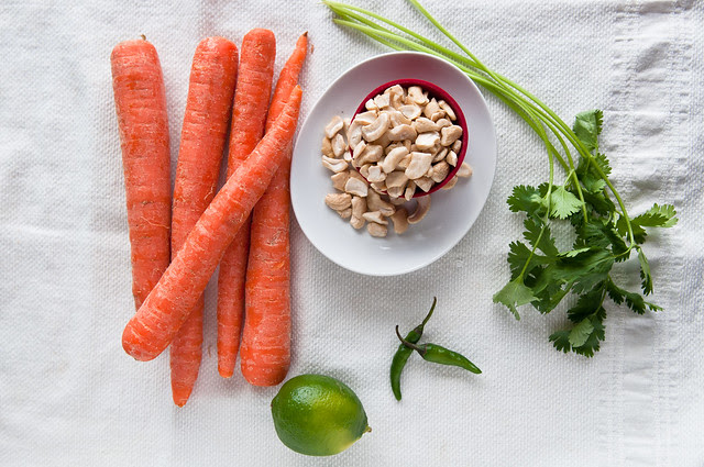 Carrot Cashew Salad
