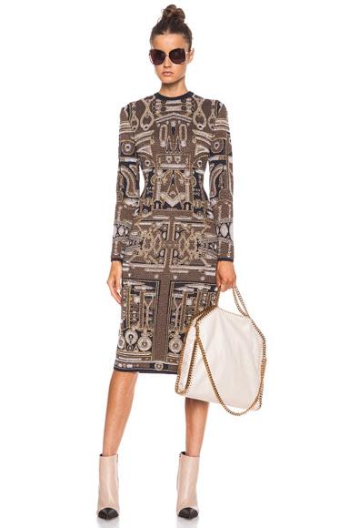 Mary Katrantzou|Dress in Toolbox Gold [1]