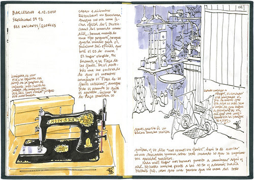 Barcelona, 29 1/2th SketchCrawl #1
