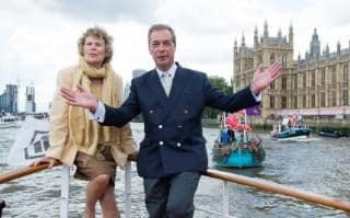 Kate Hoey and Nigel Farage