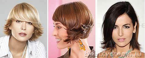 Den Haarschnitt Auf Mittlere Und Kurze Haare Stylen Modeoptionen