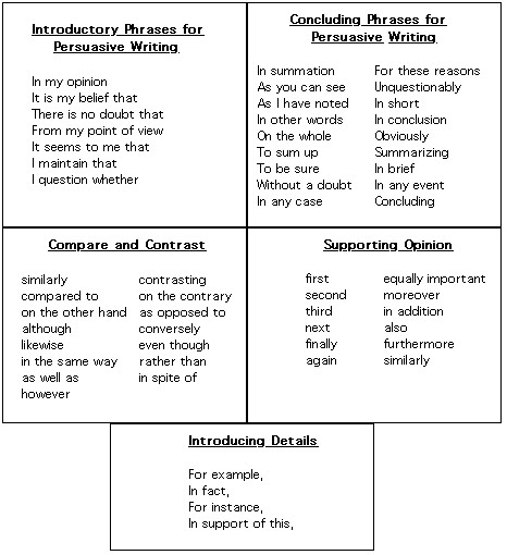 how to write a persuasive essay z words