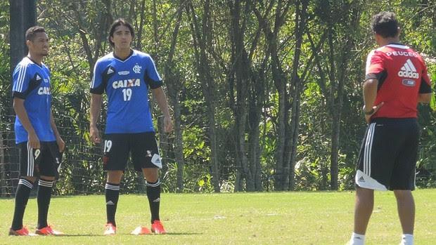 Marcelo Moreno Treino Flamengo (Foto: Cahê Mota)