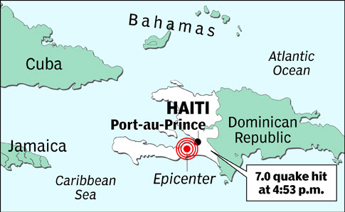Justin Bieber Gallery Map Of Haiti Earthquake