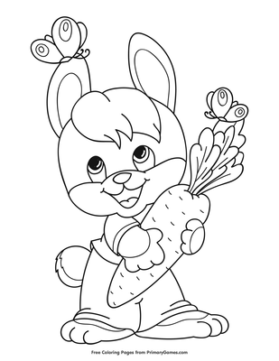 530 Carrot Coloring Pages Printable , Free HD Download