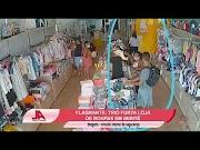 Ladra de roupas usa cartão em loja e dá pista para polícia