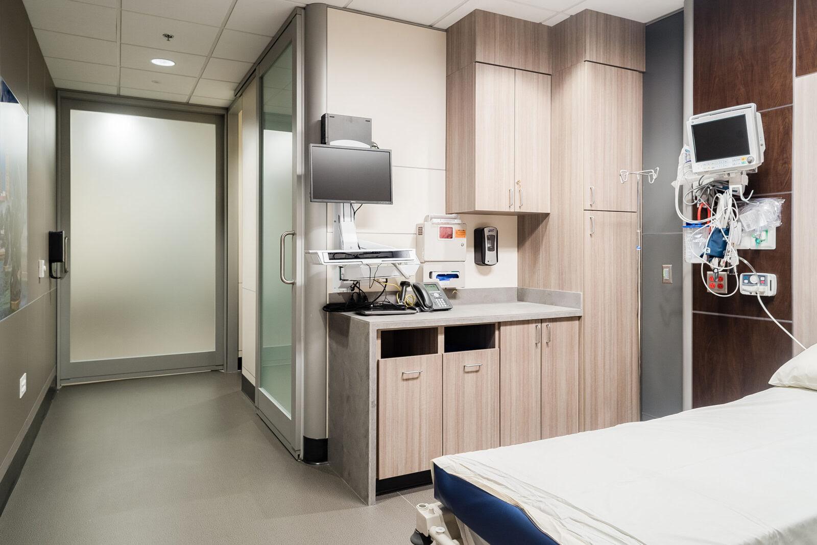 Kansas City Orthopaedic Institute Built Interior Construction