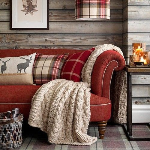 cozy cabin decor.