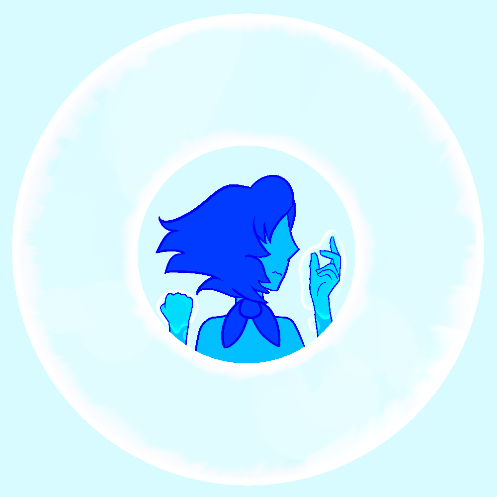 A Lapis thing I made for a friend